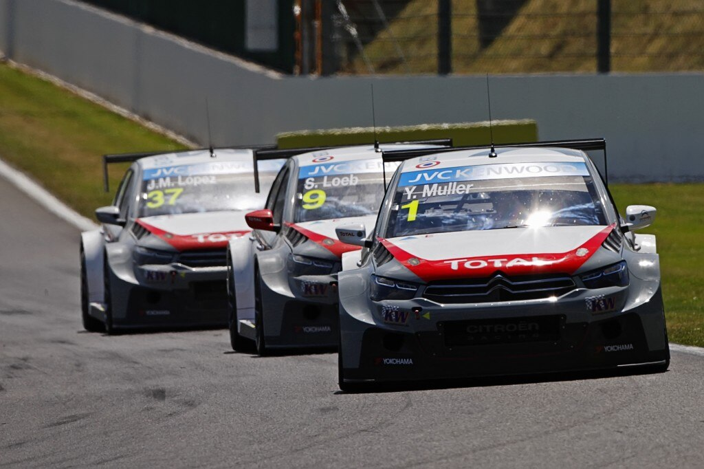 FIA WORLD TOURING CAR CHAMPIONSHIP 2014 - SPA FRANCORCHAMPS